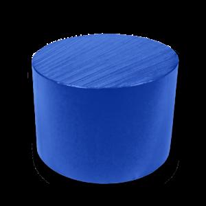 acetron md plástico técnico azul
