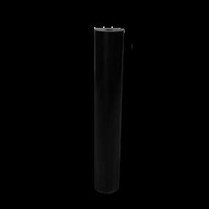 Ertacetal H POM H plástico técnico negro