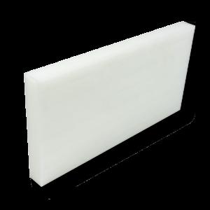 Ertalon 6SA PA6 plástico técnico blanco